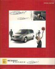 Renault Espace Rush Limited Edition 2005 UK Market Sales Brochure