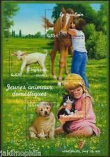 Bloc n° 96 Animaux Domestiques de 2006  NEUF ** - LUXE