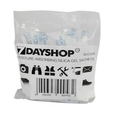 10 X 25g Packets of Silica GEL Sachets Packs Bags Moisture Absorbing Desiccant