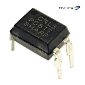 10 Stück PC817 Optokoppler Optocoupler 1 Kanal DIP4