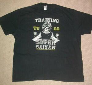 SUPER SAIYAN SHIRT XXL , UFC MMA BJJ JIU JITSU KICK BOXING GYM WORK OUT TRAINING