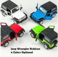 1/32 CAIPO JEEP Wrangler SUV Diecast Car SUV Model Toys Kids Pull Back Gifts