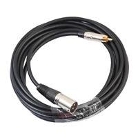 rca maschio a xlr maschio audio mic cavo patch microfono parti del cavo
