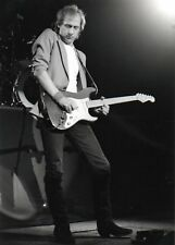 MARK KNOPFLER DIRE STRAITS PHOTO 1982 UNIQUE UNRELEASED IMAGE HUGE 12INCH RARITY