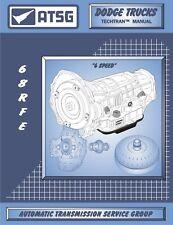 68RFE ATSG Rebuild Manual Dodge Chrysler Transmission Overhaul Service Cummins