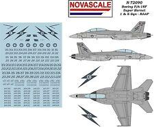 RAAF F/A-18F Super Hornet Decals 1/72 Scale N72090A