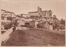 G1630 France - Saint-Bonnet-le-Chateau - Vue générale - Stampa - 1934 old print