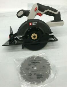 "NEW Porter-Cable  20V  5-1/2 "" Circular Saw w/ blade , PCC661, N"