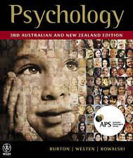 Psychology by Burton, Westen & Kowalski (3rd Australian and New Zealand Edition)