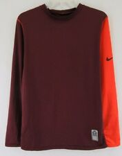 Nike Team Women's Running Shirt  Athletic Apparel  Long Sleeve Size-XL #D687