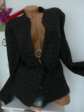 Sheego Chaqueta Blazer Mujer Talla 44 Hasta 58 de Cuadros (131)