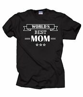 World's Best Mom T-Shirt Gift For Mother Mommy Mother's Day Gift Tee Shirt