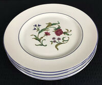 Lenox Casual Images Rose Garden Set Of 4 Salad Plates 8 Inches Made In Japan