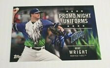 2005 Topps Mike Wright Signed Autographed Baltimore Orioles Norfolk Tides Rookie