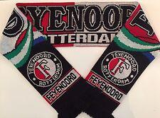 FEYENOORD Football Scarves New from Soft Luxury Acrylic Yarns