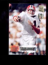 1994 SC Stadium Club JEFF GEORGE Atlanta Falcons 1st Day Issue Insert Card