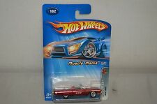 Hotwheels Muscle Mania Nos Red 1963 T-Bird 1996 Issue Mattel Inc. G6829