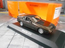 PORSCHE 924 Coupe Sportwagen 1984 braun met brown Maxichamps Minichamps 1:43