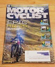 MotorCyclist Magazine May 2014 Epic Rides Ducati Monster 1200 Zero Long Range SR