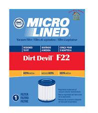 Dirt Devil  F22, F26 Hepa Filter Aspire  # 1-LV1110-000