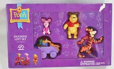 Winnie Pooh 100 Acre Collection Figurine Gift Set Cake Topper Pretend Toys NEW