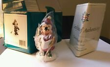 WDCC Disney Classics 1995 Caroler Minnie Ornament MIB  Pluto's Christmas Mouse