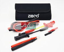 ZIBOO Test Leads & Test Probe Kit ( FLUKE TL224,TP1,Alligator Cip,Accessory Case