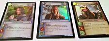 LOTR (2002 Decipher) TCG Promo Foil Cards: Gimli, Legolas & Aragorn NM-MT NEW