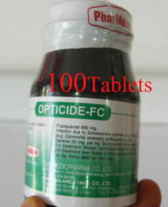 Prazyquantel 600 mg - Opticide exp.2022