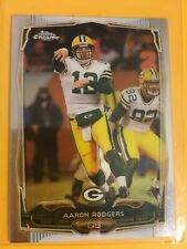 2014 TOPPS CHROME MINI AARON RODGERS QB GREEN BAY PACKERS CARD#83