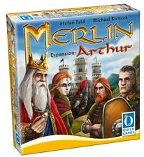 MERLIN - EXPANSION SET: ARTHUR - Queen Games 20251 - Multilingual EN-DE-FR - NEU