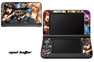 Skin Decal Wrap for Nintendo 3DS XL Gaming Handheld Sticker 12-15 MAD HATTER