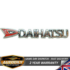 Daihatsu Badge Chrome 150x20mm Letters Tailgate Wing Rear Boot Fourtrak Terios