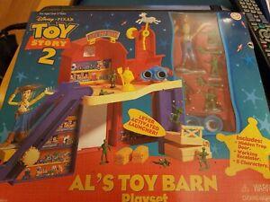 Disney Pixar Toy Story 2 Al's Toy Barn Playset Mattel New Sealed
