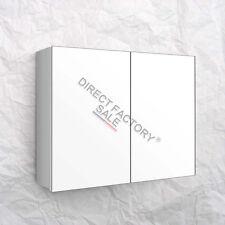 NEW 900 X 720 X 150MM BATHROOM VANITY MIRROR CABINET SHAVING WHITE PENCIL EDGE