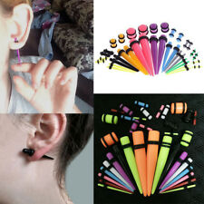 Expander Stretcher Stretching Piercing Kit 36pcs Acrylic Ear Plug Taper Gauges