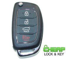 2013-2016 Hyundai Santa Fe High Security Flip Key Keyless Entry Remote HY18R Key