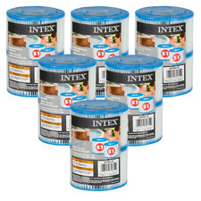 12 Cartouches de Filtration Intex pour filtre Spa - Intex TYPE S1