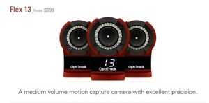 1 Optitrack Flex 13 Motion Camera ( 1st Photo is from Flex Website )