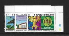 1977 Maldives Telecoms SG689-691 Unmounted Mint (MNH)