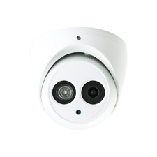 HDW4231EM-AS 4MP 2.8MM POE Built-in Mic IR IP Dome Camera, 2K, New! (USA)