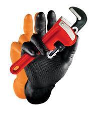 Gants pour mécanique en nitrile écaillés - Orange - 25 paires - Taille : M