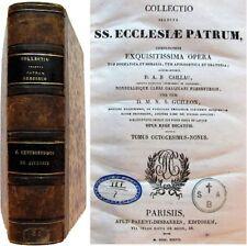Collectio selecta ecclesiae patrum t.89-90 Caillau Guillon 1838 opera dogmatica
