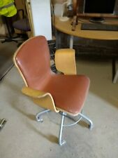 Vintage Lloyd Loom Swivel Office Chair