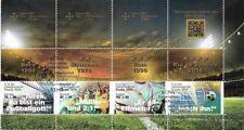 Bund Mi.Nr. 3380-3382 (2018) gestempelt (Kleinbogen)/Sporthilfe (Fußballspiele)