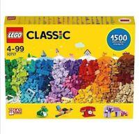 XL Lego 10717 Classic 1500 Bricks Starter Set with Ideas - New & Factory Sealed