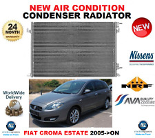 FOR FIAT CROMA AIR CON CONDENSER 2005->ON ESTATE 1.9 2.4 D MULTIJET OE QUALITY