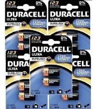 Baterías desechables Duracell CR123A para TV y Home Audio
