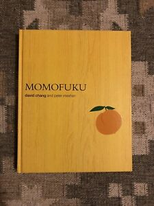 Momofuku : A Cookbook by Peter Meehan and David Chang (2009, Hardcover) NEW