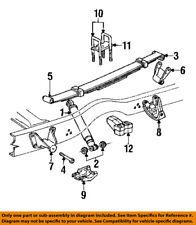 Dodge CHRYSLER OEM 84-93 Ramcharger Rear Suspension-U-bolt Bolt 6035153